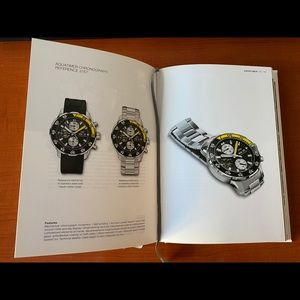 IWC Watch collector book; 2009/10 edition; used